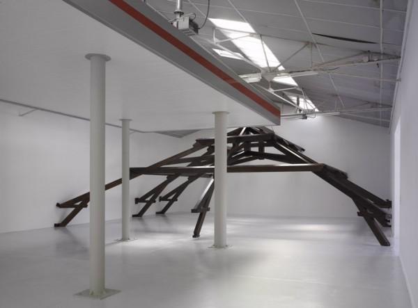 Vue de l'exposition Tight, Repeating Boredom
