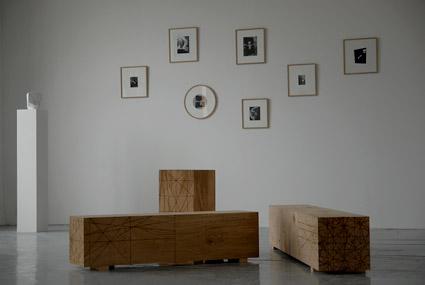 Benoit Maire et Raphael Zarka , vu de l'exposition à IrmaVep, 2008