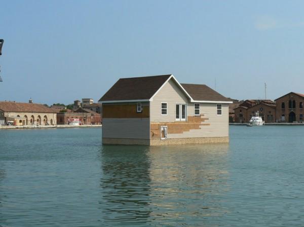 Mike Bouchet (Etats-Unis). Watershed, 2009. crédits photographiques: Antoine Marchand, 2009