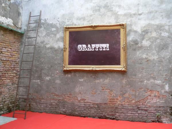 """Vue de l'exposition """"Distortion"""", Fondation Gervasut, 2009. crédits photographiques: Antoine Marchand, 2009."""
