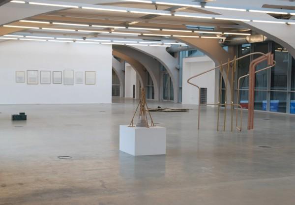 Viue de l'exposition La Notte à la Kunshalle de Mulhouse