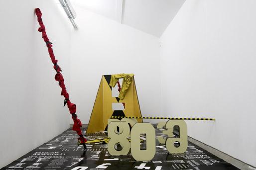 Black Mariah, vue de l'exposition à Pougues les Eaux
