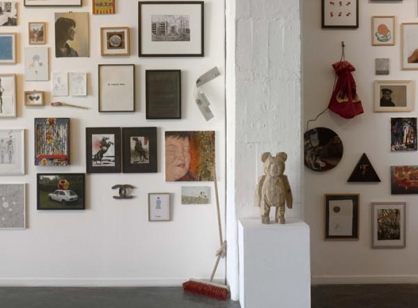 collection Harmut et Helga Rauch, vue de l'exposition Heidi au pays de Martin Kippenberger