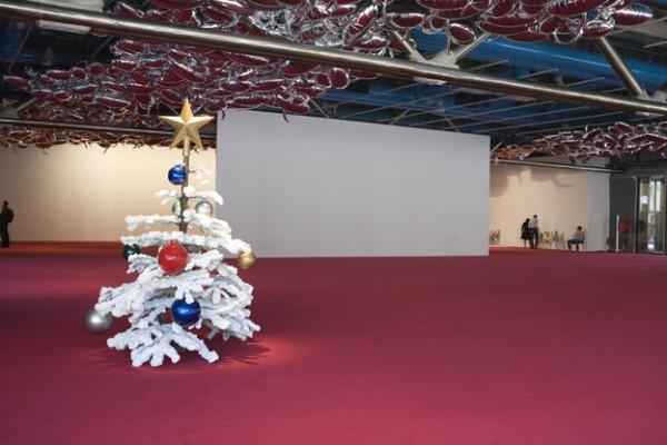 Philippe Pärreno, vue de l'exposition au centre Pompidou