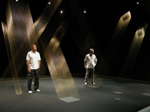 Lygia PapeTTEIA 1, C, (2002). project Lygia Pape - cultural association. Corderie, Arsenal. Biennale de Venise 2