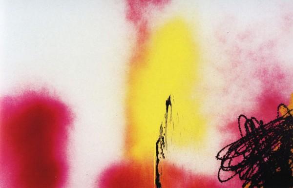 Hans Hartung acrylique-sur-toile