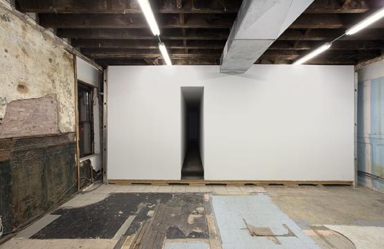 Klara liden, Elda för Krakorna, vue de l'installation chez Reena Spaulings, NY