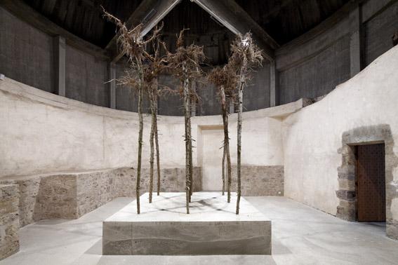 Gustav Metzger, Failing Trees, 2009-2010