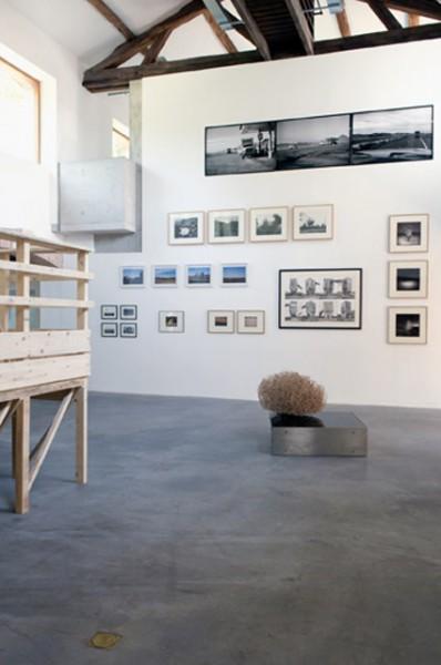 vue de l'exposition America Deserta au Parc Saint Léger, 2010