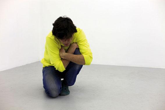 Stéphane Querrec Le vague au corps, 2010. Vidéo.