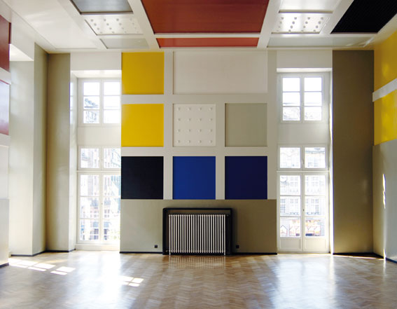 Vue de la salle de l'Aubette, Strasbourg. Photo : M.Bertola / Musées de la Ville de Strasbourg.