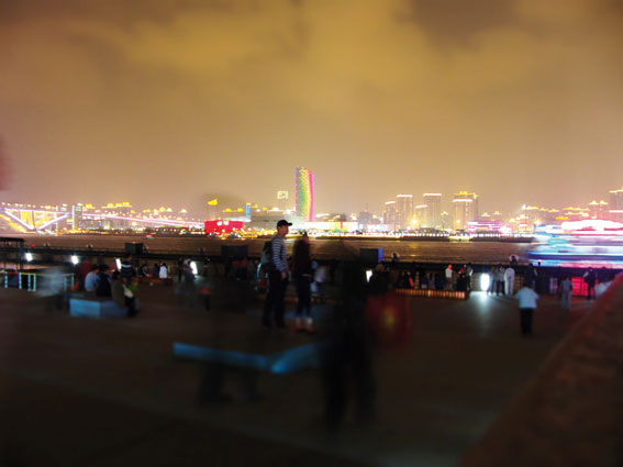 Shangai Expo 2010 Vue générale. © Photo : Nicolas Garait