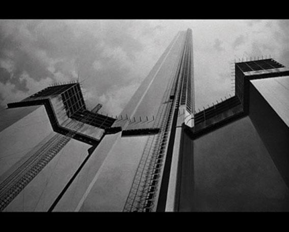 The Fountainhead, 2010, vidéo, noir et blanc, muet, 1h50. Courtesy des artistes © Société Réaliste