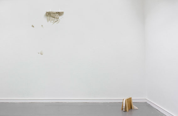 Karsten Födinger, vue d'atelier, 2009 Courtesy de l'artiste et RaebervonStenglin, Zurich
