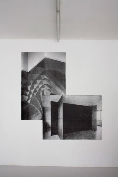 Alexandra Leykauf gothisches Gewölbe, 2009 silver gelatin print 70 cm x 50 cm