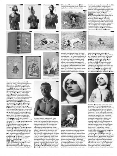 Peggy Buth Index du livre d'artiste Desire in Representation, 2008 Courtesy KLEMM'S, Berlin et l'artiste