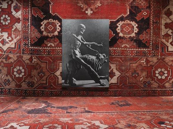Rudolf Stingel. Untitled, 2013. Vue de l'exposition au Palazzo Grassi, Venise