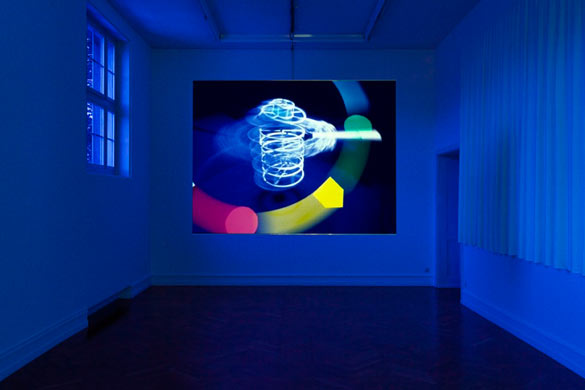 ERICKA BECKMAN Works 1978-2012, vue de l'exposition à la Kunstalle de Berne, 2013. Crédit photo: Gunnar Meier.