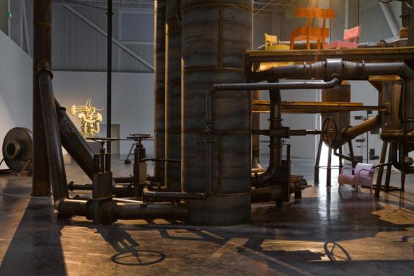Atelier Van Lieshout. Blast Furnace, 2013. Friche la Belle de Mai, Marseille. Photo : JC Lett.