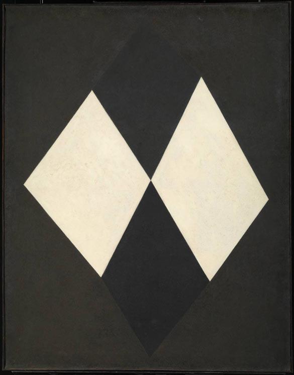 Mira Schendel, Untitled, 1963, Oil paint on canvas