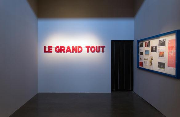 Alina Molinero, Paul Bernard, Le Grand Tout, 2013. © Anita Molinero, coll. Frac Limousin.