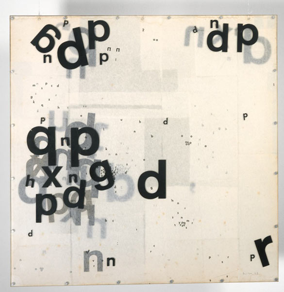 Mira Schendel, Graphic Object 1967–8, Colección Patricia Phelps de Cisneros © Mira Schendel estate.