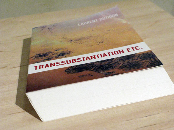Laurent Duthion, Transsubstantiation etc., 2012, courtesy de l'artiste. Photos © Atelier d'Estienne.