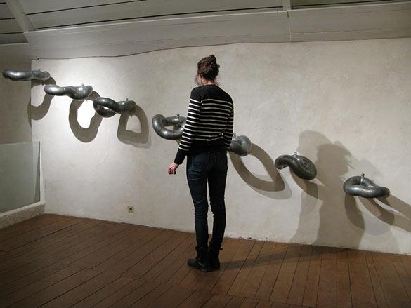 Antoine Dorotte, Suite d,O, 2010, courtesy galerie ACDC et l'artiste. Photos © Atelier d'Estienne.
