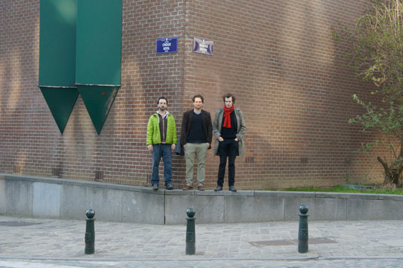 Artists Club (Thibault Espiau, Ištvan Išt Huzjan et Grégoire Motte), Choux / Marais.