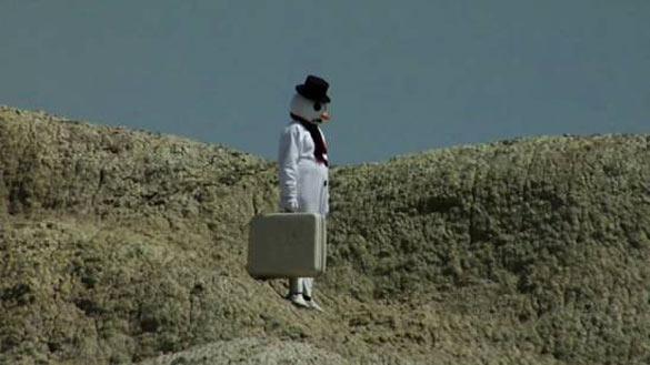 Friedrich Kunath, vue de l'exposition A Plan to Follow Summer Around the World, Centre d'art contemporain d'Ivry – le Crédac, 2014. Photo : André Morin / le Crédac. Courtesy de l'artiste et Blum & Poe, Los Angeles ; BQ, Berlin ; Andrea Rosen Gallery, New York ; White Cube, Londres.