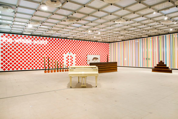 Martin Creed, What's the point of it, Hayward Gallery, 2014 Installation view © photo Linda Nylind