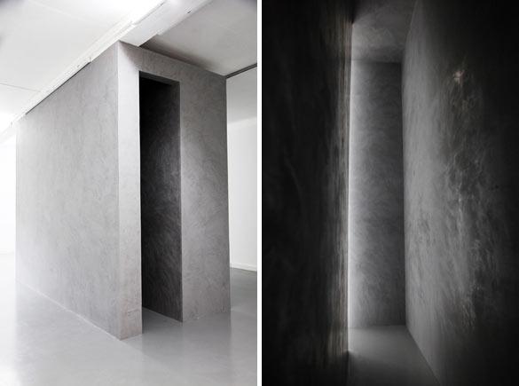 Oliver Beer, Aural Architecture 1, 2013. Photo : Villa Arson.