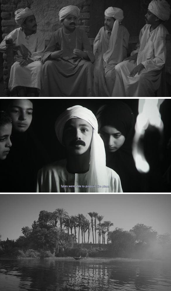 Al Araba Al Madfuna II, 2013. Still. Vidéo. 34 mn 44 sec. © Wael Shawky.