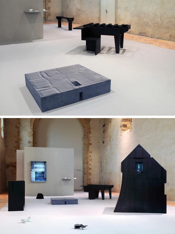 Pierre Besson, vues d'ensemble de l'exposition Life on the Inside.