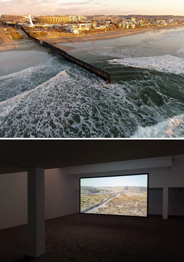 Adrien Missika, As The Coyote Flies, 2014. Vidéo HD couleur avec son transféré sur Blu-ray, 14'35'' - courtesy galerie Bugada & Cargnel, Paris.