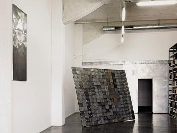 Antoine Dorotte. Vue de l'exposition magmas & plasmas au Frac Aquitaine, 2014. Photo: JC Garcia.