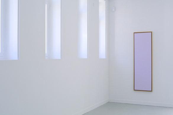 Hugo Pernet, Ask Me, acrylique sur toile, caisse américaine, 162x51cm, 2014.