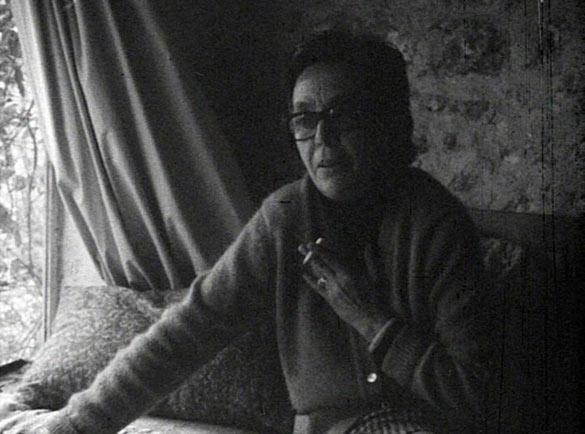 David Lamelas, Interview avec Marguerite Duras, 1970. Courtesy de l'artiste et LUX London. © l'artiste.