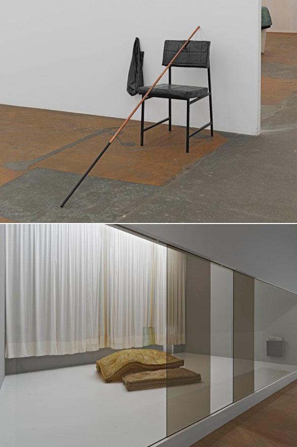 Tatiana Trouvé. 350 points à l'infini, 2009. court. Galerie König. Photo : I. Kalkkinen – Mamco, Genève / Les Indéfinis, 2014. court. Galerie Perrotin, Paris. Photo : I. Kalkkinen – Mamco, Genève.