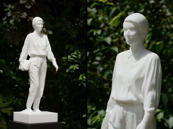 Nicolas Milhé, Rosa Luxemburg © Fabrice Gousset.