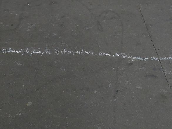 Jean-Christophe Norman, Ulysses, a long way, 2014. Biennale de Belleville 3, Paris.