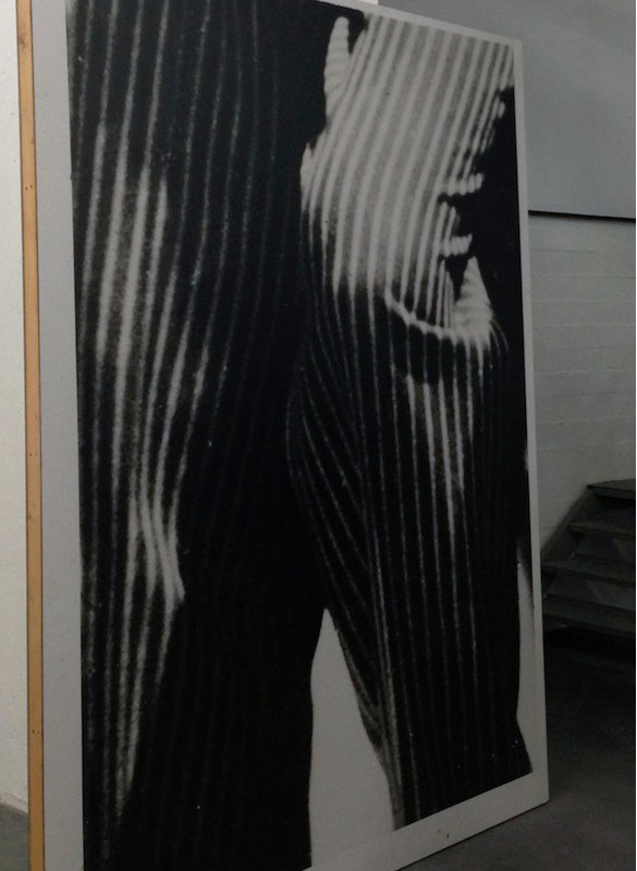 Pierre Leguillon, Le musée des erreurs : art contemporain et lutte des classes, vue d'exposition (détail), WIELS, 2015. Photo: Sven Laurent.
