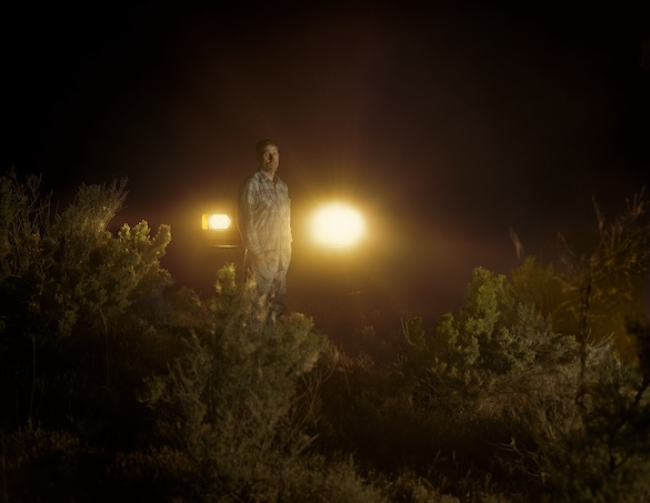 Taryn Simon,The Innocents, 2002. Charles Irvin Fain Scène du crime, Snake River, Melba, Idaho. Incarcéré 18 ans à la suite d'une condamnation à mort pour meurtre, viol et enlèvement. Tirage jet d'encre, 121,9 × 157,5 cm. Courtesy Taryn Simon © 2014 Taryn Simon
