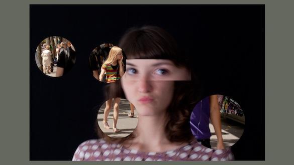 Suzanne Lafont, Le nouveau mystère de Marie Roget, 2014, détail du diaporama