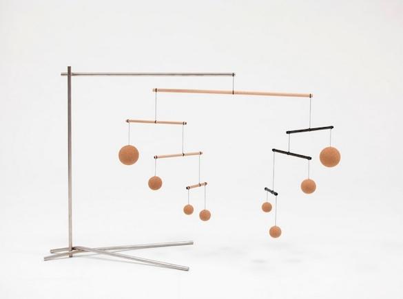 Vue de l'exposition Music de Xavier Veilhan, galerie  Perrotin New York.