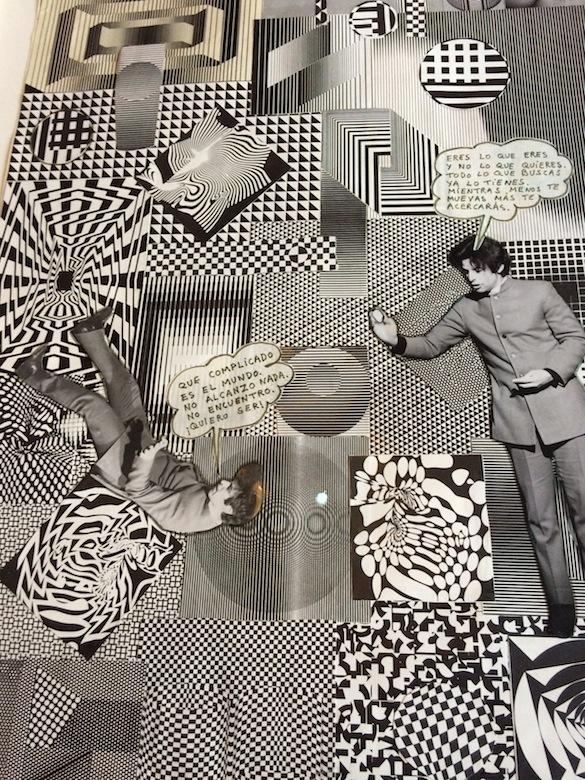 Alejandro Jodorowsky, Fabulas Panicas, 9 juin 1968. Collage