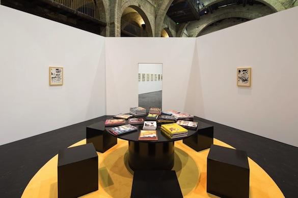 Vue de l'exposition au CAPC. Photo : Arthur Péquin.