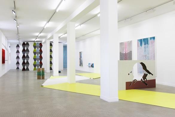 Vue de l'exposition de Jean-François Leroy et Emilie Satre. Photo : Galerie municipale Jean-Collet.