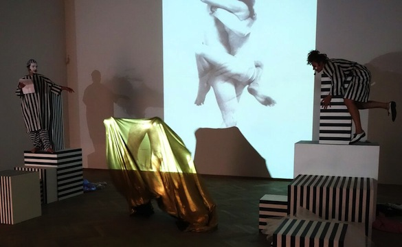 Angelo Plessas, Fantasy Plot Generator, performance and installation, courtesy The Breeder, Athens, 2011 and ongoing