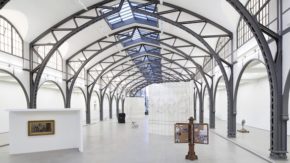 Mariana Castillo Deball, Parergon. Vue de l'exposition / Installation view Hamburger Bahnhof – Museum für Gegenwart – Berlin. Photo : Thomas Bruns